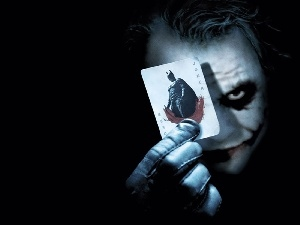 Card, Batman, JOKER