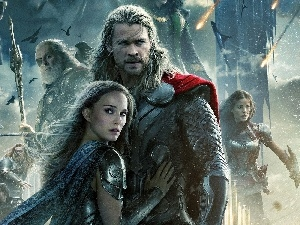 Chris Hemsworth, Natalie Portman, Thor, The Dark World