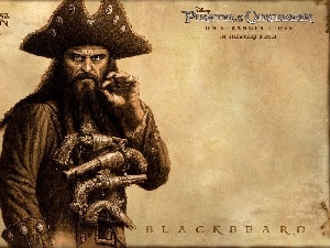 Blackbeard, Pirates Of The Caribbean On Stranger Tides