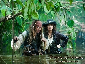 Jack, Angelica, Pirates Of The Caribbean On Stranger Tides