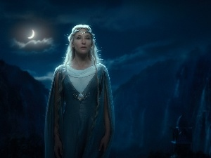 Night, Cate Blanchett, Galadriel