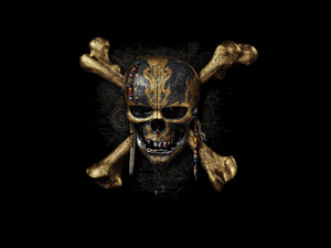 skull, bones, movie, Pirates of the Caribbean: Dead Men Tell No Tales, poster