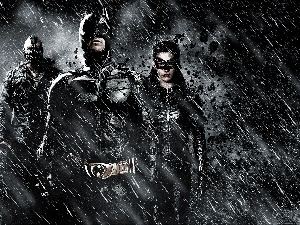 Batman Dark Knight, Rain