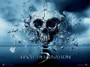 Final Destination 5, ruin, skull, bridge