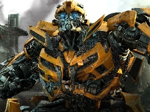 Town, tranformers, Bumblebee